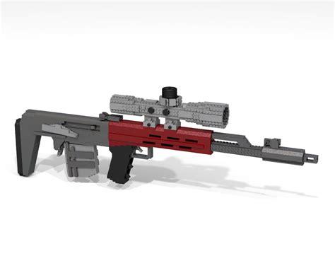 Lego Ausini Svd Sniper 22803 svu as bluejay themeister