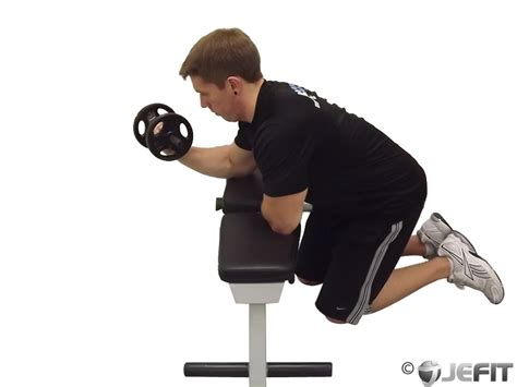 reverse wrist curl over bench dumbbell one arm reverse wrist curl over bench exercise