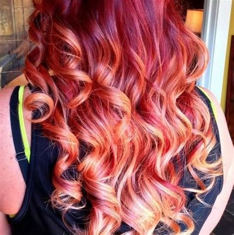 long hairstyles red highlights 15 best long wavy hairstyles popular haircuts