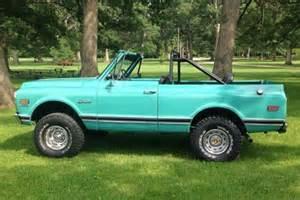 nicely restored 1972 chevrolet k5 blazer bring a trailer