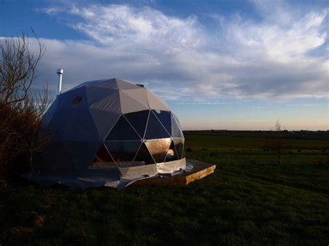 creature comforts bideford tiree geodesic dome