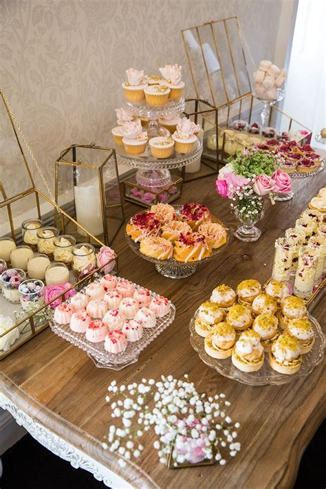 wedding dessert table how to host a beautiful bridal shower bridal shower