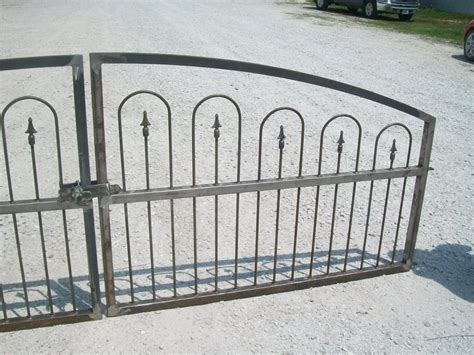 wrought iron secure driveway gate fence 3 t x 12 w