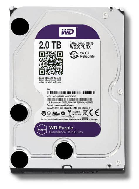 Wd Purple 35 60tb wd wd20purx 2tb purple 3 5 quot sata3 surveillance drive wd20purx mwave au