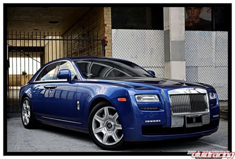 rolls royce racing rolls royce ghost with led running lights racing