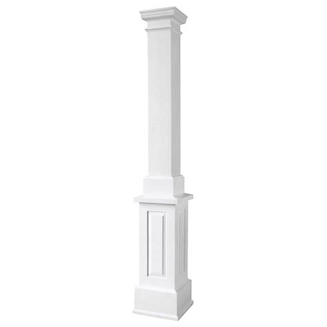 decorative columns home depot turncraft architectural sqanppetu turncraft poly classic column square shaft non tapered