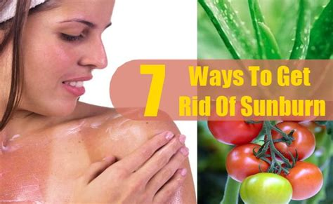 7 Ways To Get Rid Of Hair by 7 Ways To Get Rid Of Sunburn Skin Care