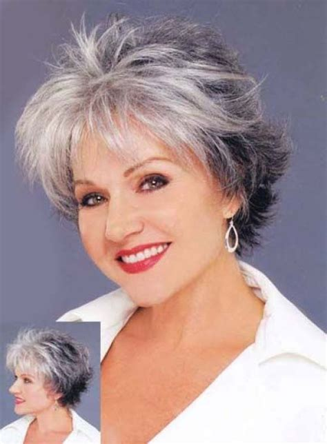haircuts for thin gray hair over 50 60 gorgeous hairstyles for gray hair