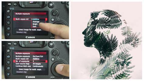 double exposure tutorial 5d mark iii 5d mark 3 camera settings for a double exposure multiple