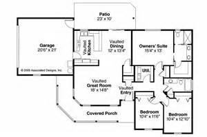 House Floor Plans by Country House Plans Peterson 30 625 Associated Designs
