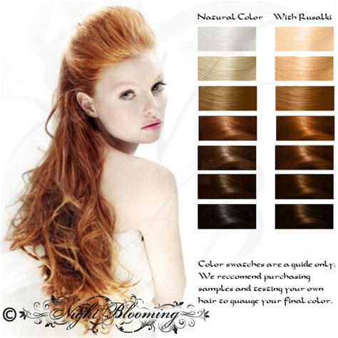 %name Red Hair Color Chart   Organic Color Shade Chart for Organic hair color dye