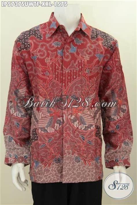 Baju Kodok Buat Cowok baju batik merah istimewa motif bagus proses tulis hadir dengan bahan twist istimewa