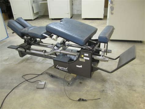 Chiropractic Tables For Sale by Used Hcmi Legend Chiropractic Table For Sale Dotmed