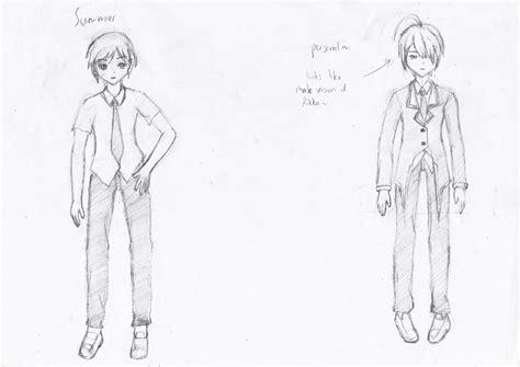 anime boy or girl pt 2 male summer winter school uniform pt2 by ikmalhidayat on