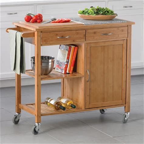 Kitchen Cart At Bed Bath And Beyond Bamboo Kitchen Island Traditional Kitchen Islands And
