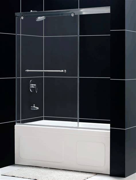 Glass Shower Doors For Tubs Frameless Torero Sliding Tub Door