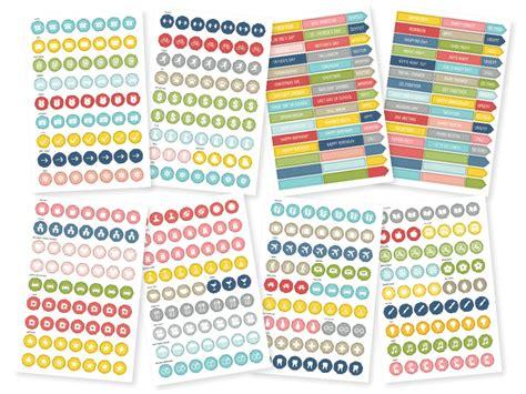 Calendar Stickers Calendar Stickers Simple Stories