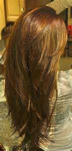 v cut layered hair long layers with v cut and bangs hair and beauty pinterest