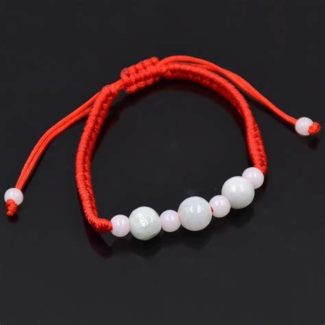 Handmade String Bracelets - jade rope string bracelet luck handmade