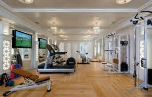 Decorating A Home Gym by 58 Well Equipped Home Gym Design Ideas Digsdigs