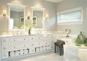 Bathroom Vanity With Towel Storage Monmouth Beach House Traditional Bathroom Other