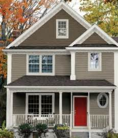 exterior house color schemes 21 best images about exterior paint ideas on