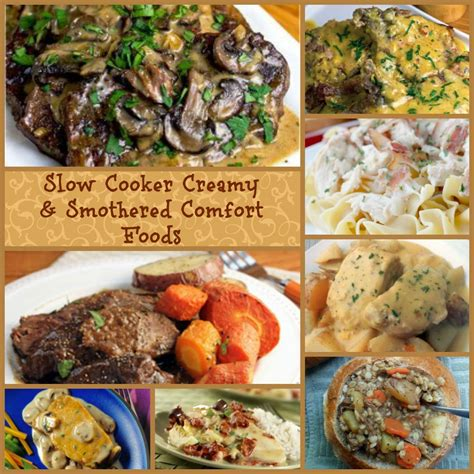 slow cooker comfort food 15 slow cooker creamy smothered comfort food recipes