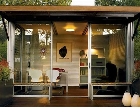 outdoor office space small space living tiny house trend grows bigger