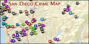San Diego Crime Map by Crime Maps Sd City Wide Protection Services