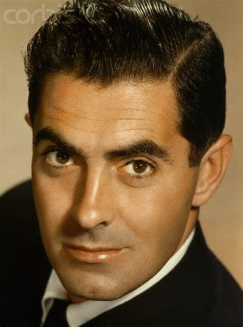 actors from the 40s tyrone power handsome and debonair actor from the