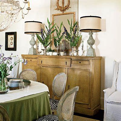 decorating a dining room buffet southern living buy only what you love calm classic southern home