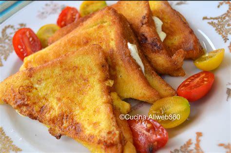 ricetta pane in carrozza mozzarella in carrozza antipasto napoletano
