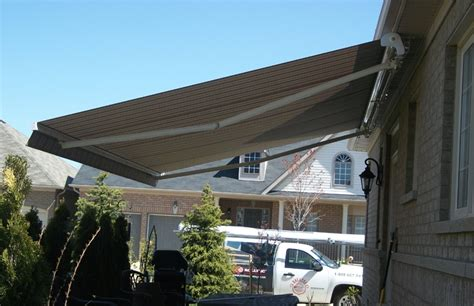 cassette awning semi cassette awning installed under the soffit rolltec