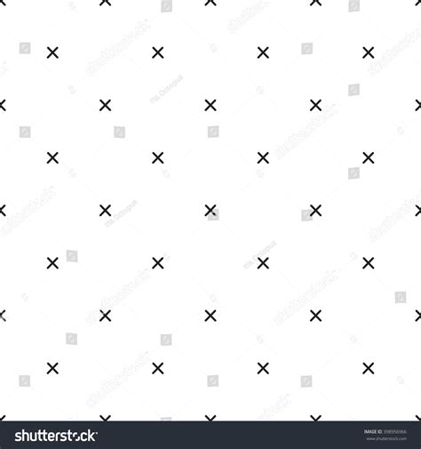 x pattern vector x cross geometric pattern simple subtle stock vector