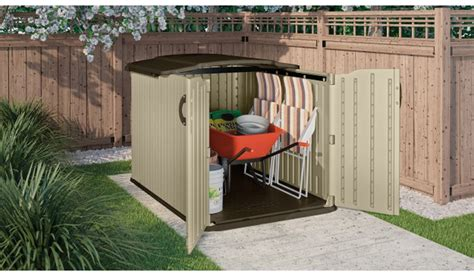 Suncast 8 X 4 Shed by Suncast Glidetop 6 Ft 8 In X 4 Ft 10 In Resin Storage Shed