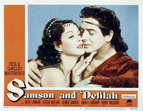 Samson Delilah 1949 Full Movie 100 Years Of Cinema Lobby Cards Samson And Delilah 1949