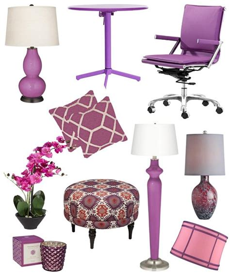 radiant orchid home decor 2014 color of the year roman interior design blog