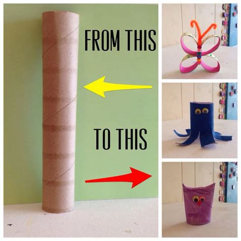 Paper Towel Roll Crafts For - paper towel roll crafts for and adults turn the