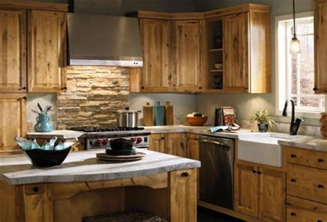 rustic birch kitchen cabinets natural rustic birch cabinets home redesign kitchen