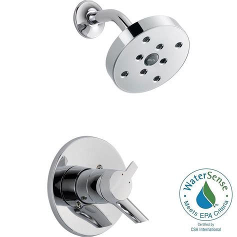 Delta Shower Only Faucet by Delta Compel 1 Handle Shower Only Faucet Trim Kit In