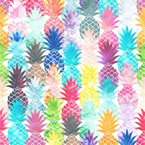 hawaiian pattern iphone wallpaper hawaiian pineapple pattern tropical watercolor art print