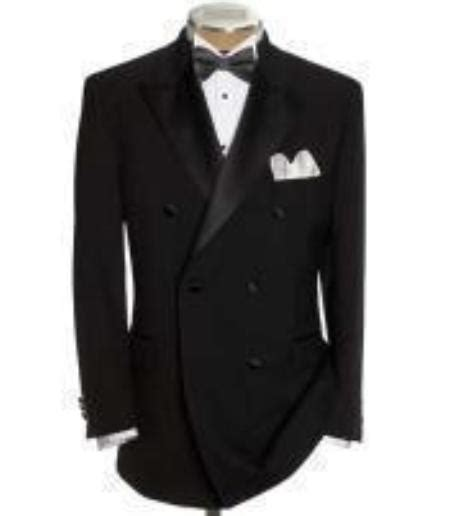 Jaspria Jas Exclusive Blue Formal sku gbb79 breasted tuxedo shirt bow tie package 6 o