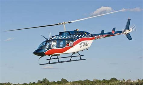 air evac helicopter four hems bell 206l4 to air evac lifeteam