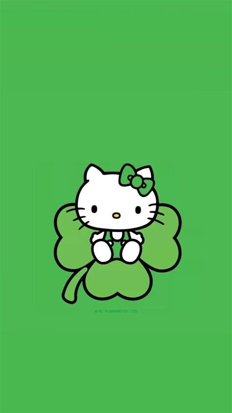 hello kitty wallpaper st patricks day 5222 best images about kawaii on pinterest