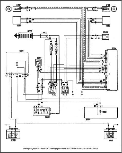 fiat uno gt gt wiring diagram 29 wiring diagrams