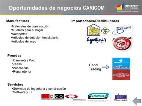 oportunidades comerciales en el caribe oportunidades comerciales en el caribe