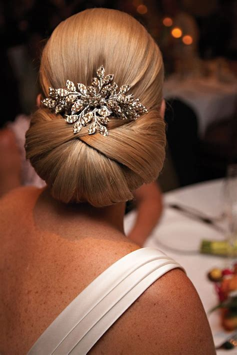 Wedding Hair Sleek Updos by 15 And Chic Sleek Updo Hairstyles For
