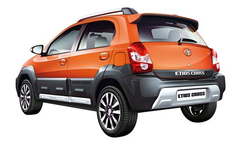 toyota website india toyota etios cross rear official image