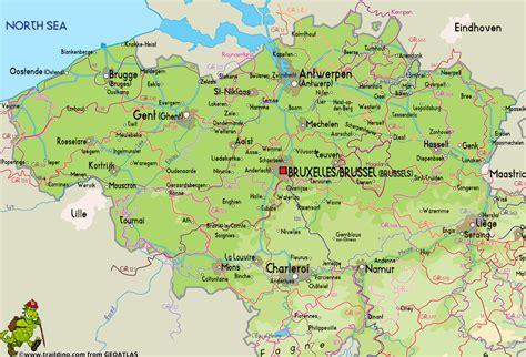 belgie map vlaanderen
