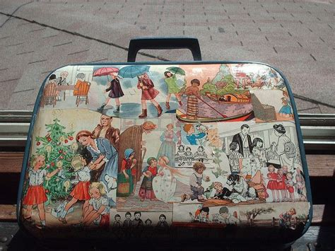 decoupage vintage suitcase 17 best images about suitcase decoupage neat on